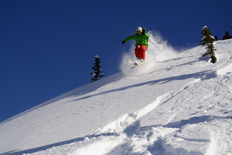 learn to ski off piste