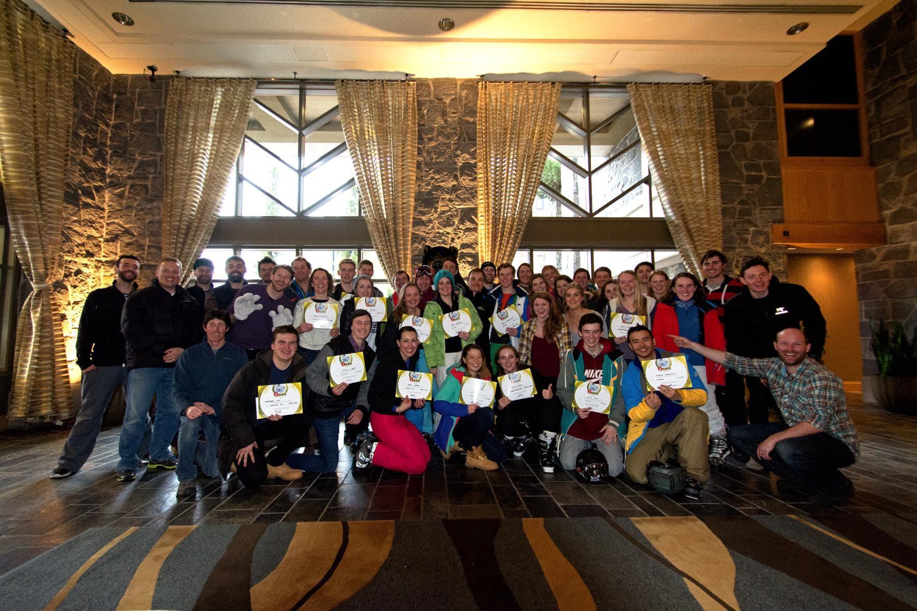 Gap Year Ski Instructor Course