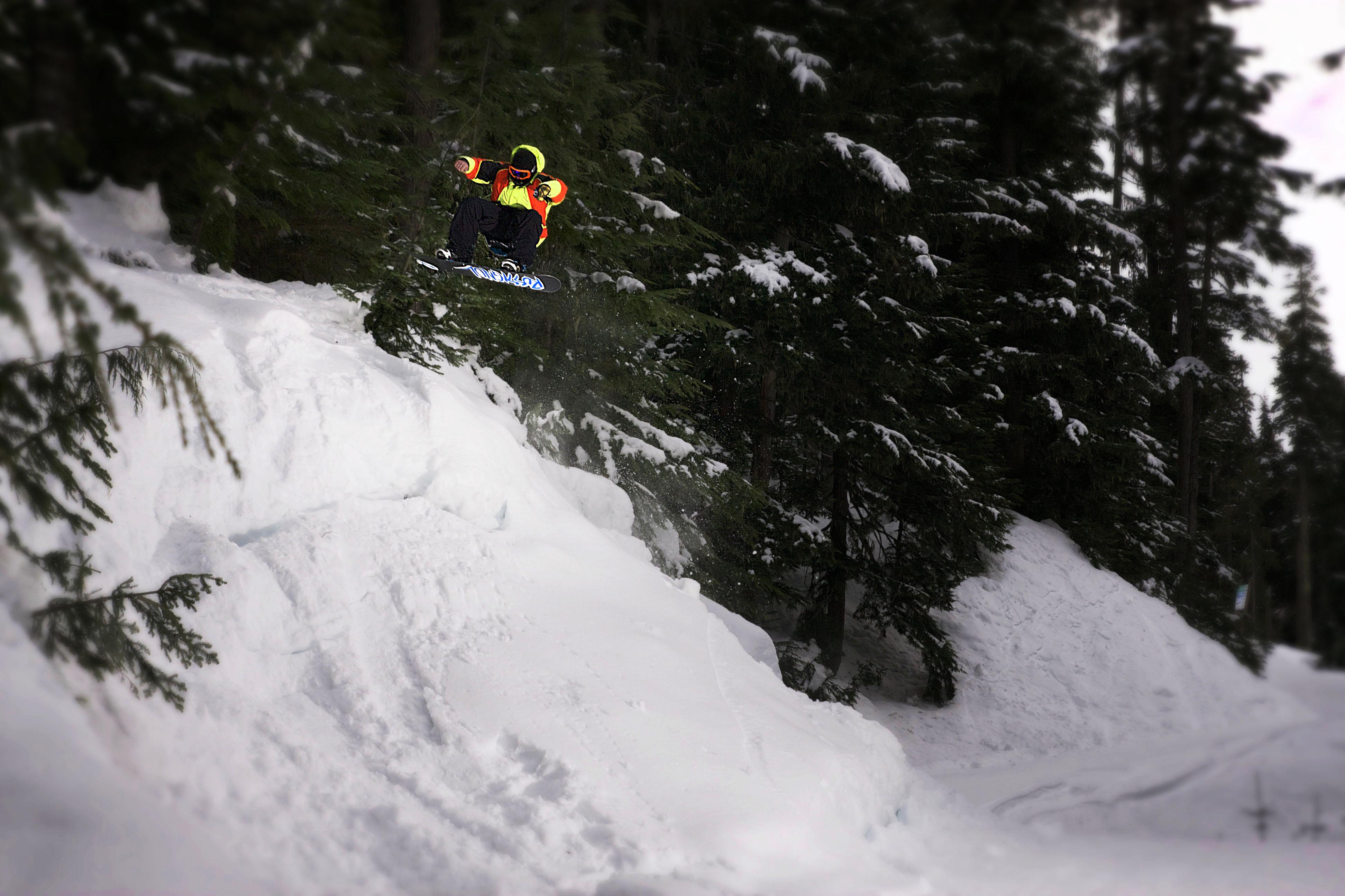 snowboard course