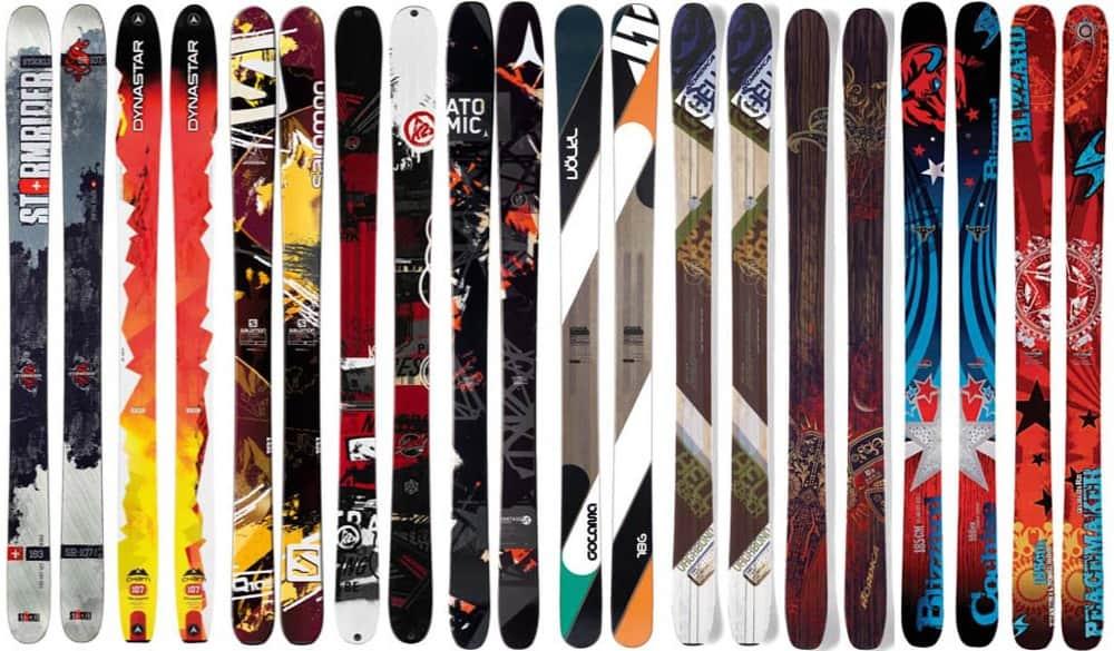 top skis