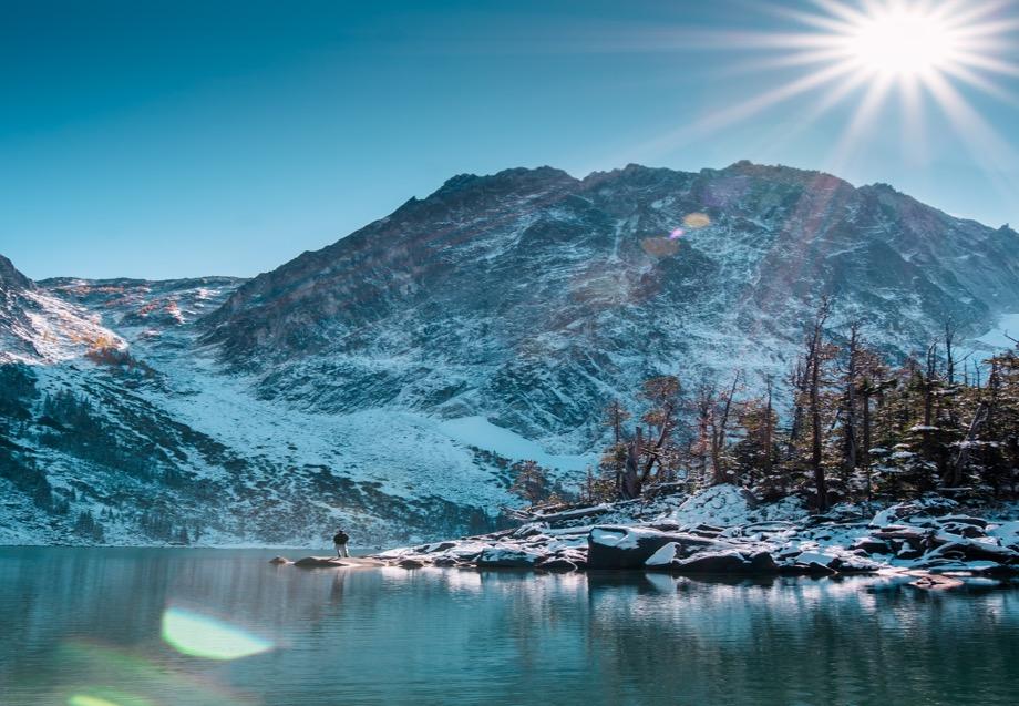Mountain Sun Water
